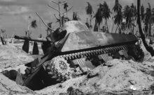 """塔拉瓦环礁之战:浴血地狱中的""""谢尔曼"""""""